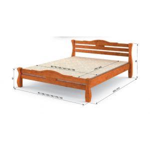 """Ліжко """"Мебігранд Монако"""" 1400*2000"""