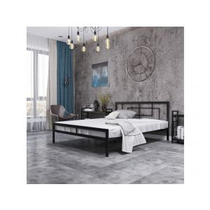 """Ліжко """"Метал Дизайн Квадро 180/200"""