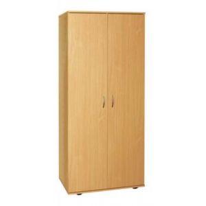 Шафа для одягу з висувною штангою 2-х дверна